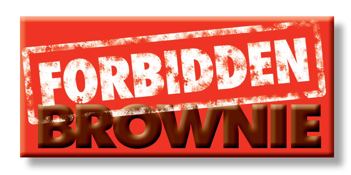 Forbidden Brownie art