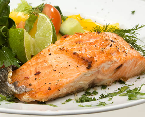 Buehler's catering salmon