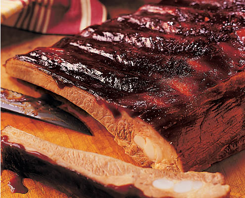 Buehler's Smokehouse BBQ ribs