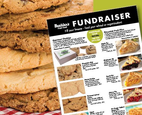 Buehler's Gourmet Cookies and Pie Fundraiser program