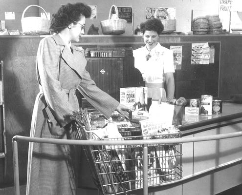 Buehler's Fresh Foods history - grocery checkout