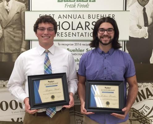 Buehler's Scholarship Winners