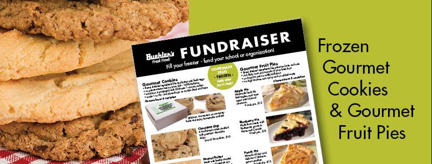 Buehler's Fundraiser - Gourmet cookies and pies