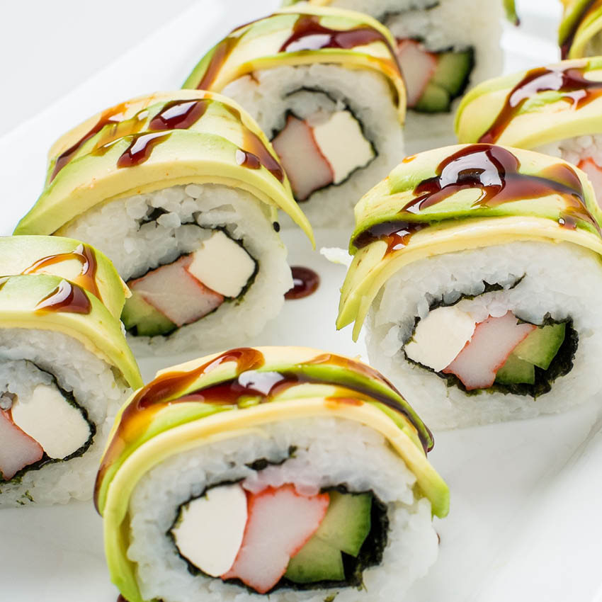 Philadelphia Roll Sushi at Buehler's