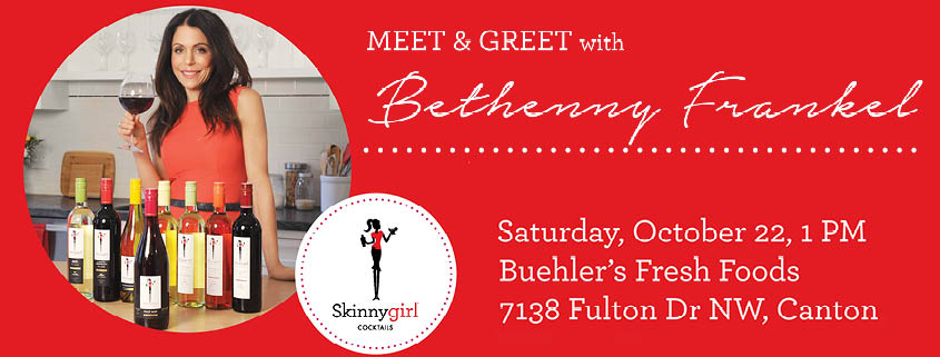 Bethenny Frankel comes to Canton, Ohio
