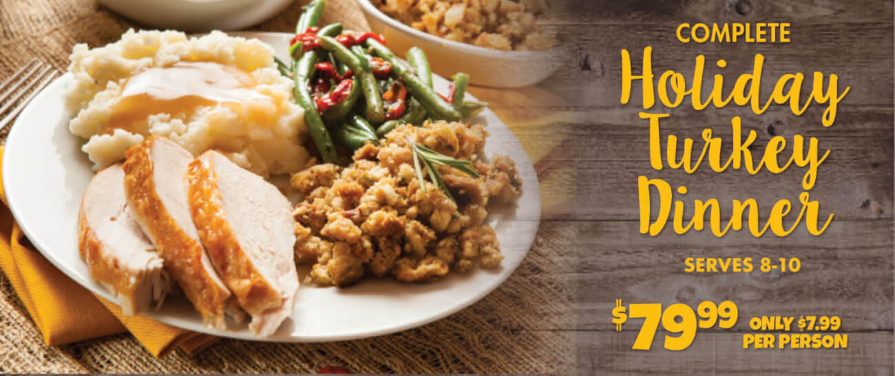 Complete Holiday Dinners Buehler S Fresh Foods