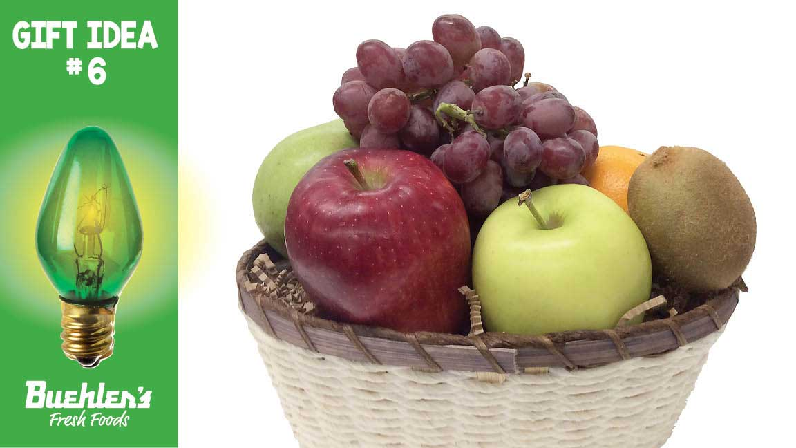 Buehler's fruit baskets make great gifts year round.