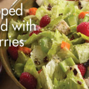 Chef's Chopped Salad with Turkey and Berries