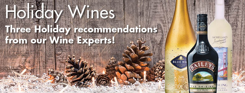 Holiday Wine Recommendations from Buehler's Wine Experts