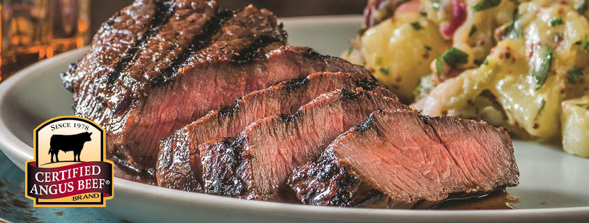 Certified Angus Beef is top quality meat.