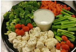 Veggie Tray from Buehler's Catering Department