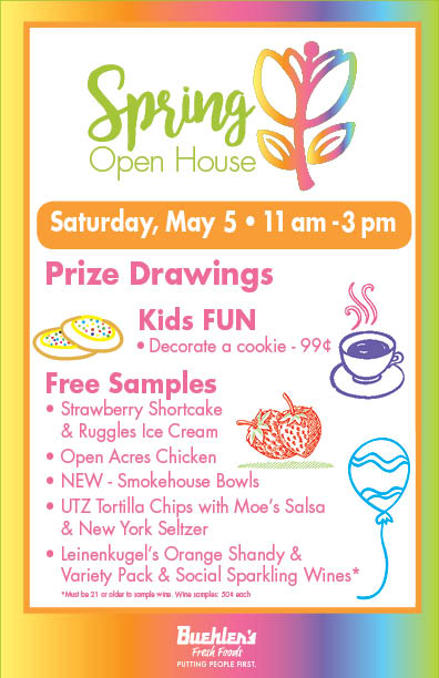 Spring Open House at Buehler's