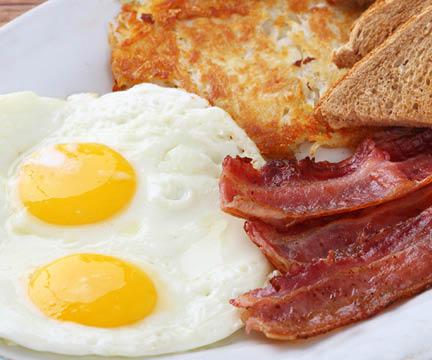 Deluxe Early Bird Breakfast