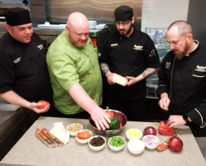 Buehler's Chefs worked hard to come up with the special recipes.